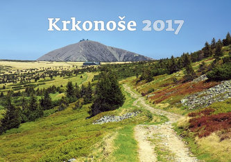Kalendář nástěnný 2017 - Krkonoše