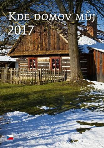 Kalendář nástěnný 2017 - Kde domov můj...