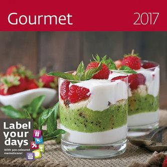 Kalendář nástěnný 2017 - Gourmet