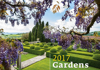 Kalendář nástěnný 2017 - Gardens 450x315cm