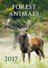 Kalendář nástěnný 2017 - Forest Animals