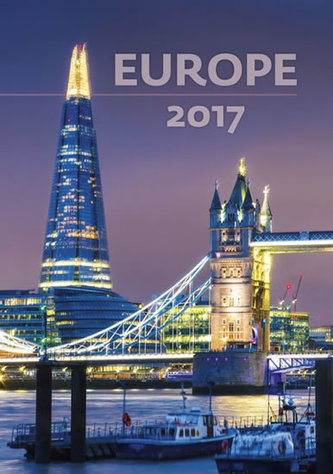 Kalendář nástěnný 2017 - Europe
