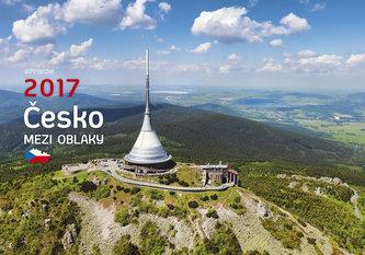 Kalendář nástěnný 2017 - Česko mezi oblaky
