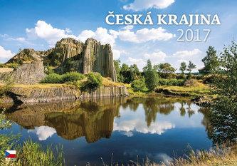 Kalendář nástěnný 2017 - Česká krajina