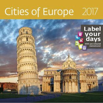 Kalendář nástěnný 2017 - Cities of Europe