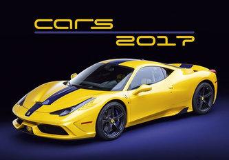 Kalendář nástěnný 2017 - Cars 450x315cm