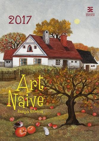 Kalendář nástěnný 2017 - Art Naive/Exclusive