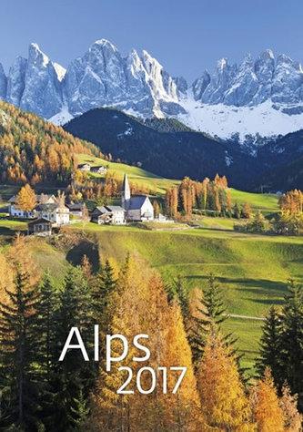 Kalendář nástěnný 2017 - Alps 315x450cm