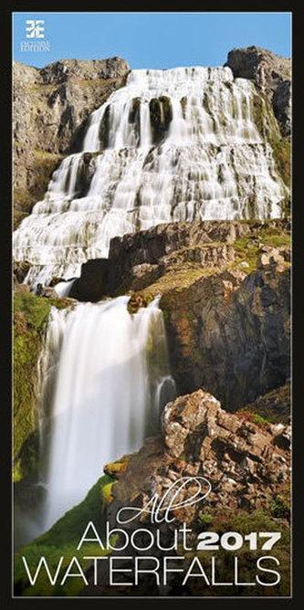Kalendář nástěnný 2017 - All About Waterfalls/Exclusive