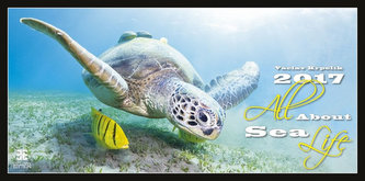 Kalendář nástěnný 2017 - All About Sea Life/Exclusive