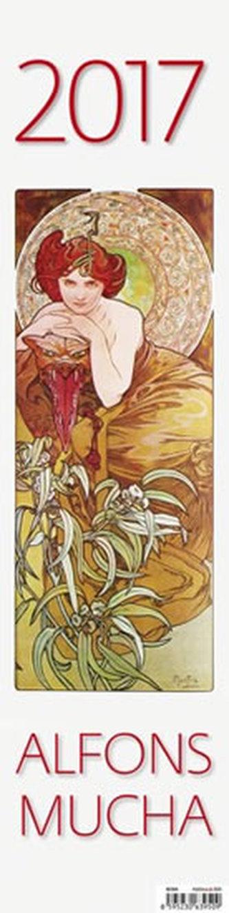 Kalendář nástěnný 2017 - Alfons Mucha
