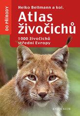 Atlas živočichů - 1000 živočichů střední Evropy