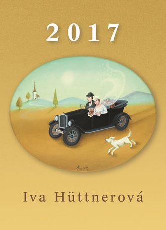 Kalendář 2017 - Iva Hüttnerová - nástěnný