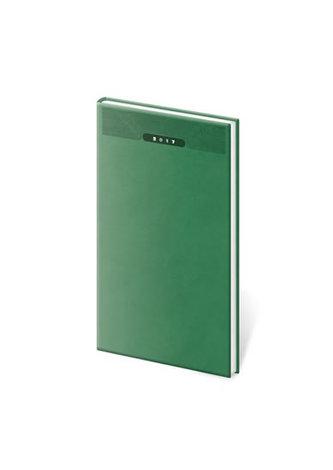 Diář 2017 - Print/týdenní kapesní zelená