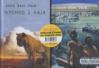 Sada 2x Agda - Horľavé čítanie na horúce leto!