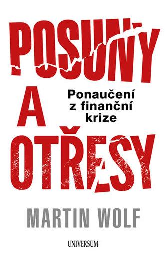 Posuny a otřesy: Ponaučení z finanční krize - Wolf Martin