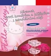 Repelentní náramek Hello Kitty tmavě růžový