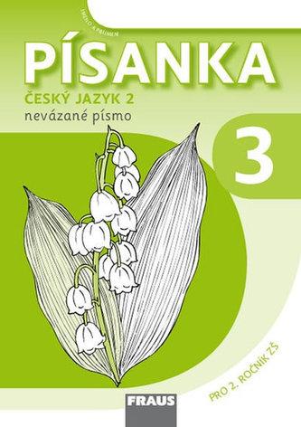 Písanka 2/3 - nevázané písmo Sassoon pro 2. ročník ZŠ