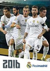 Kalendář 2017 - REAL MADRID