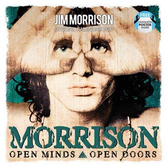 Kalendář 2017 - JIM MORRISON