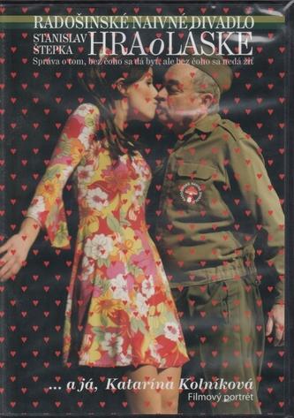 DVD - Radošinské naivné divadlo: Hra o láske