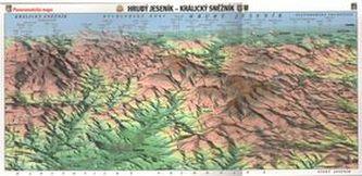 Panoramatická mapa Hrubý Jeseník