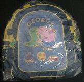 Školní taška Prasátko Peppa - modrá
