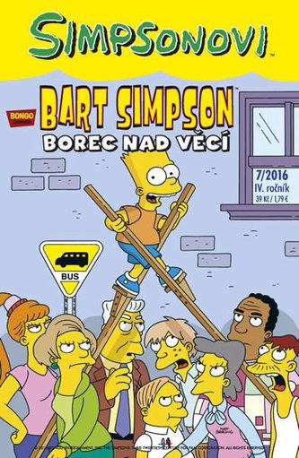 Simpsonovi - Bart Simpson 7/2016: Borec nad věcí