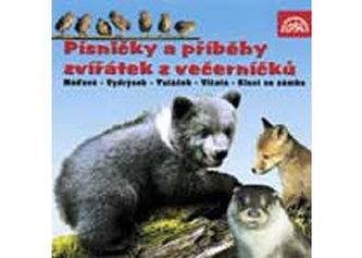 Písničky a příběhy zvířátek z večerníčků - CD