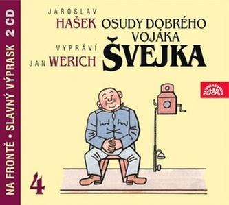 Osudy dobrého vojáka Švejka 4.díl - 2CD