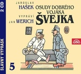 Osudy dobrého vojáka Švejka 5.díl - 2CD