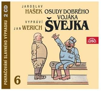 Osudy dobrého vojáka Švejka 6.díl - 2CD - Jaroslav Hašek