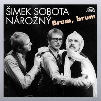 Brum, brum - Šimek,Sobota,Nárožný - CD - Linda Perina