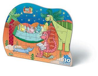 Puzzle 30 deskové Prehistoric Junior - neuveden
