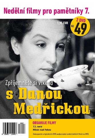 Nedělní filmy pro pamětníky 7. - Dana Medřická - 2 DVD pošetka - neuveden
