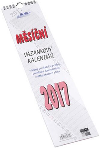 Vázanka měsíční 2017 - nástěnný kalendář