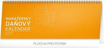 Manažérsky daňový kalendár - stolní kalendár 2017