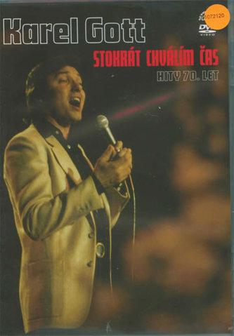 Hity 70. let. Stokrát chválím čas - DVD - Gott Karel