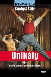 Unikáty + Dobře placená procházka - DVD