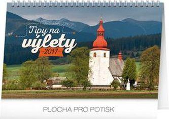 Tipy na výlety - stolní kalendár 2017