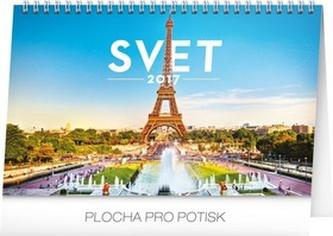 Svet - stolní kalendář 2017