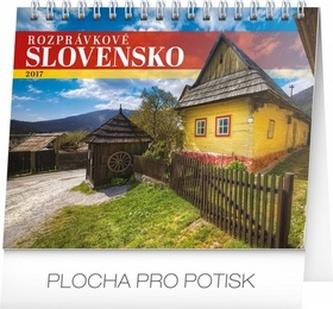 Rozprávkové Slovensko - stolní kalendář 2017