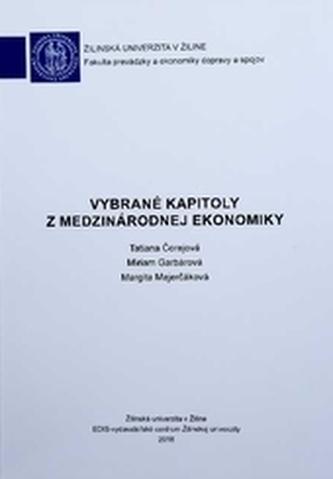 Vybrané kapitoly z medzinárodnej ekonomiky