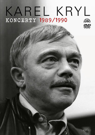 Karel Kryl - Koncerty 1989/1990 DVD - Kryl Karel