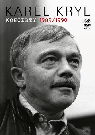 Karel Kryl - Koncerty 1989/1990 DVD - Kryl Karel