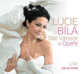 Lucie Bílá - Bílé Vánoce v Opeře CD+DVD - Bílá Lucie