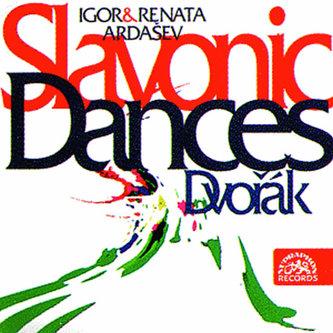 Slovanské tance pro čtyřruč.klavír - CD