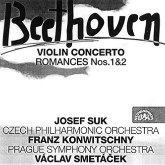 Koncert pro housle a orchestr - CD - Beethoven Ludwig van