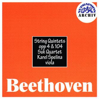 Smyčcové kvintety, op. 4 , 104 - CD - Beethoven Ludwig van