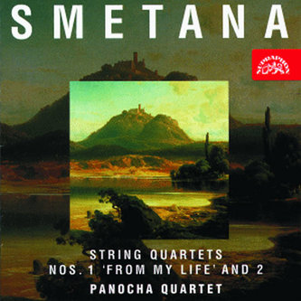 Smyčcové kvartety č. 1 a 2 - CD - Smetana Bedřich